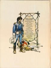 Verso de Blueberry -15- Ballade pour un cercueil