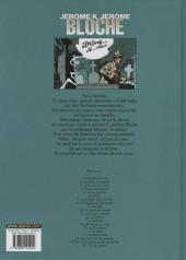 Verso de Jérôme K. Jérôme Bloche -1d2003- L'ombre qui tue