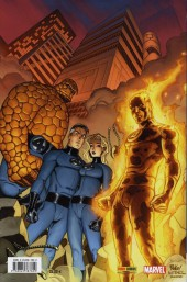 Verso de Fantastic Four (Marvel Deluxe) -2- Coup de force