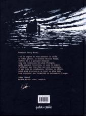 Verso de Les carnets de Georg Weiss -1- Le testament du Docteur Weiss
