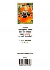Verso de Zipang -10- Volume 10