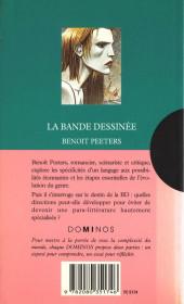 Verso de (AUT) Peeters, Benoît - La Bande dessinée