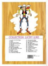 Verso de Lucky Luke -28c89- L'escorte