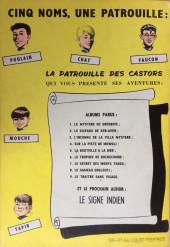 Verso de La patrouille des Castors -9- Le Traître sans visage