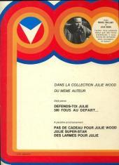 Verso de Julie Wood -1a- Une fille nommée Julie Wood