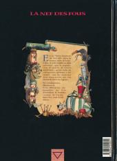 Verso de La nef des fous -1- Eauxfolles