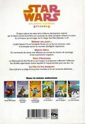 Verso de Star Wars - Clone Wars Episodes -6- La chute des Jedis