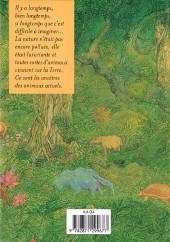 Verso de Encyclopédie des animaux de la préhistoire