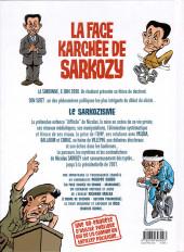 Verso de La face karchée de Sarkozy -1- La Face karchée de Sarkozy