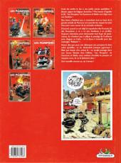 Verso de Les pompiers -5- Hommes des casernes