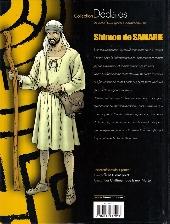 Verso de Shimon de Samarie / Le Samaritain -2- Les châtiments de la mer Morte