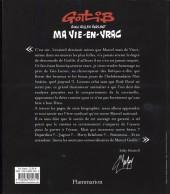 Verso de (AUT) Gotlib -20- Ma vie-en-vrac