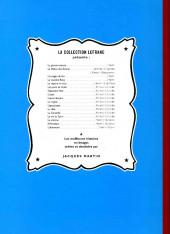 Verso de Lefranc -2e2006- L'ouragan de feu