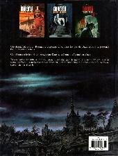 Verso de Sur les traces de Dracula -3- Transylvania