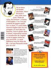 Verso de Michel Vaillant (Dossiers) -9- Pescarolo, le marathonien