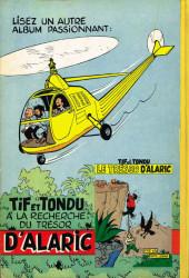 Verso de Tif et Tondu -2- Tif et Tondu en Amérique centrale