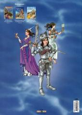 Verso de Les aventures d'Aline -4- Montbéliard la fiancée des Wurtemberg