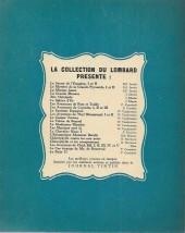 Verso de Bob et Bobette (Collection du Lombard) -5- Les Martiens sont là!