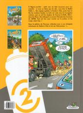 Verso de Les vélo Maniacs -2- Tome 2