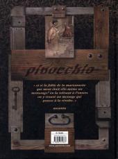 Verso de Pinocchio histoire d'un enfant