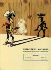 Verso de Lucky Luke -37- Canyon Apache