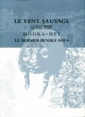 Verso de Buddy Longway -INT4 cof- Le vent sauvage, La robe noire, Hooka Hey, Le dernier rendez-vous
