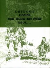 Verso de Buddy Longway -INT1 cof- Chinook - L'Ennemi - Trois hommes sont passés - Seul...