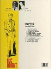 Verso de Luc Orient -4c83- La planète de l'angoisse