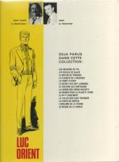 Verso de Luc Orient -6c- Le secret des 7 lumières