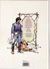 Verso de Blueberry (La Jeunesse de) -5a1992- Terreur sur le Kansas