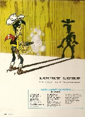Verso de Lucky Luke -52- Fingers