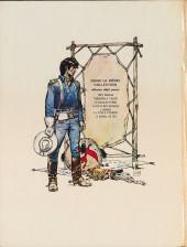Verso de Blueberry -8- L'homme au poing d'acier