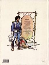 Verso de Blueberry -19a1982- La Longue Marche