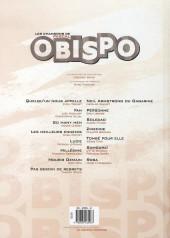 Verso de Les chansons de Pascal Obispo en BD - Rêver l'aventure...