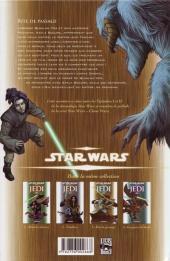 Verso de Star Wars - Jedi -3a- Rite de Passage