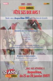 Verso de Marvel Icons (Marvel France - 2005) -21- Le collectif