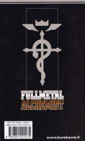 Verso de FullMetal Alchemist -10- Tome 10