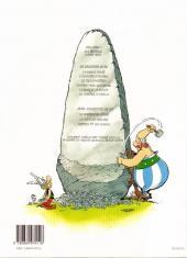 Verso de Astérix -27b2000- Le fils d'Astérix