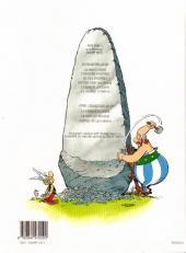 Verso de Astérix -28b2001- Astérix chez Rahãzade