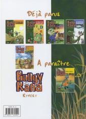 Verso de Boogy & Rana -5- Le pouvoir des Goliaths