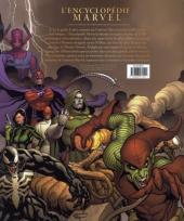 Verso de (DOC) Marvel Comics - L'encyclopédie des personnages de l'univers Marvel