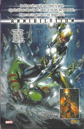 Verso de Marvel Icons (Marvel France - 2005) -22- Affaires de famille