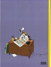 Verso de Les aventures d'Hergé - Tome a