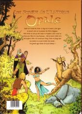 Verso de Les forêts d'Opale -1- Le bracelet de Cohars