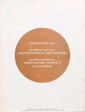 Verso de Corto Maltese (Publicness) -2- La lagune des beaux songes