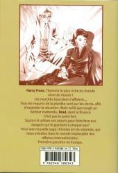 Verso de Golden man -1- Volume 1