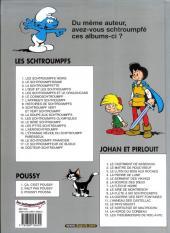Verso de Les schtroumpfs -4Ind- L'Œuf et les Schtroumpfs