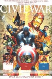 Verso de Marvel Icons (Marvel France - 2005) -23- Le blitz du XXIe siècle