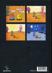 Verso de A.L.I.E.E.N. -a- Anthologie de Littérature Infantile Extraterrestre Egarée Négligemment