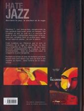 Verso de Hate Jazz